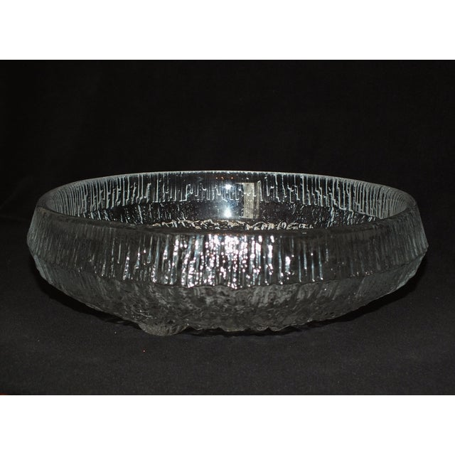 Image of Iittala Lunaria Art Glass Bowl by Tapio Wirkkala
