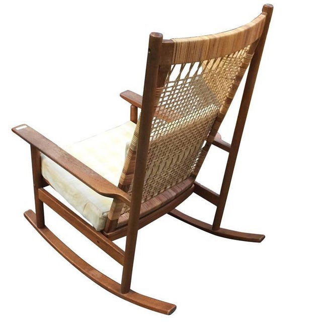 Danish Modern Rocking Chairs by Hans Olsen for Juul Kristiansen - Image 3 of 6