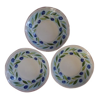Italian Handmade Serving Bowls - Set of 3
