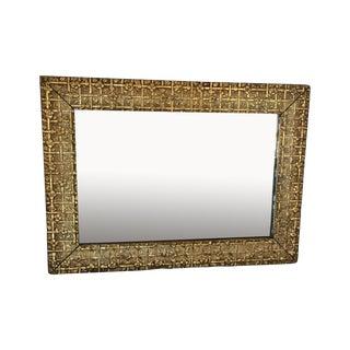 Vintage Rectangular Gilded Mirror