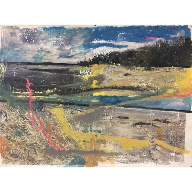 """Coastal View"" Painting - Image 2 of 4"