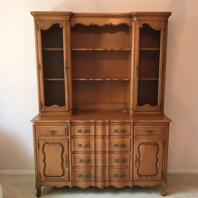French country cabinet hutch chairish for French country websites