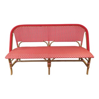 Serena and Lily Red Rivera Bench