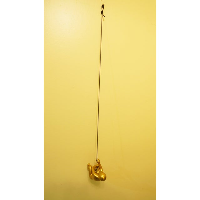 Gold Climbing Man Wall Art - Image 5 of 5