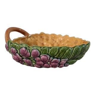 Mid-Century Sarregueminas Fruit Bowl