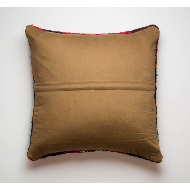 "16"" x 16"" Red Kilim Pillowcase - Image 3 of 3"