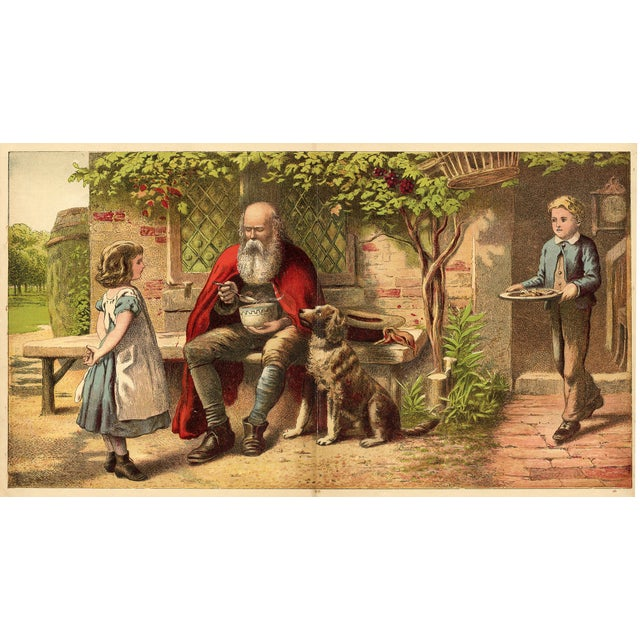 "Joseph Kronheim ""The Good Children"" C. 1880s - Image 1 of 2"