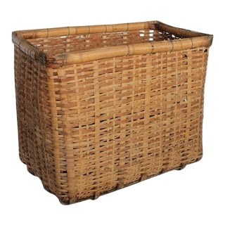 Giant Antique American Gathering Basket
