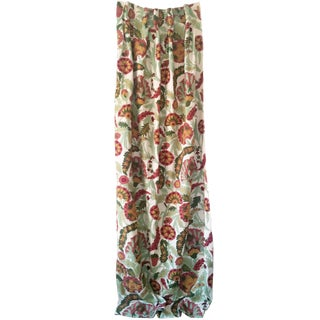 Crewl Embroidered Curtain
