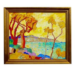 Martha Holden Santa Barbara Landscape Painting