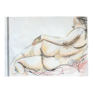 Reclining Nude Drawing