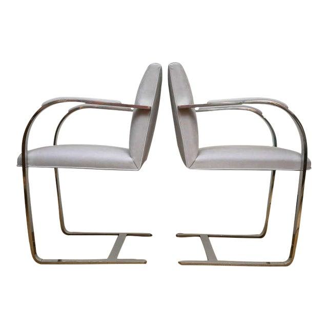 Set of 4 Vintage Ludwig Mies van der Rohe Brno Chairs - Image 1 of 7