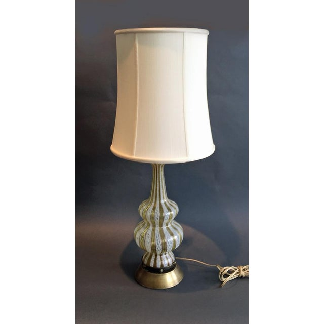 Murano Glass Table Lamp - Image 2 of 4