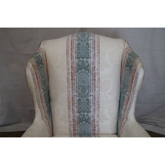 Image of Highland House Hickory Queen Anne Wing Chair