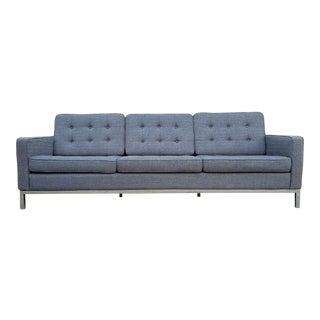 Gray Mid-Century Style Sofa