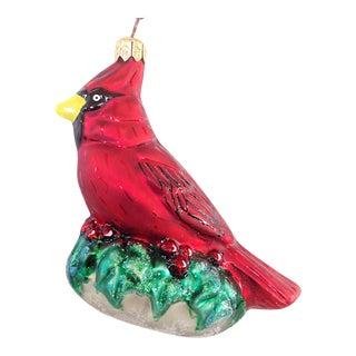 Christopher Radko Red Cardinal Ornament