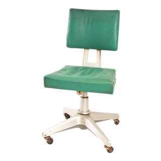 Vintage General Fireproofing Industrial Aluminum Office Chair