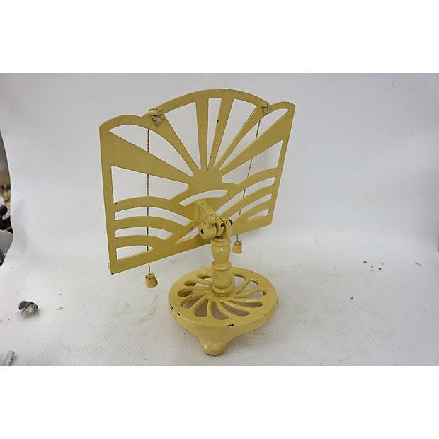 Image of French Cast Iron Cookbook Stand