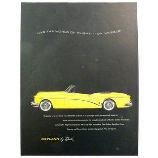 "1953 ""Skylark"" Magazine Advertisement"