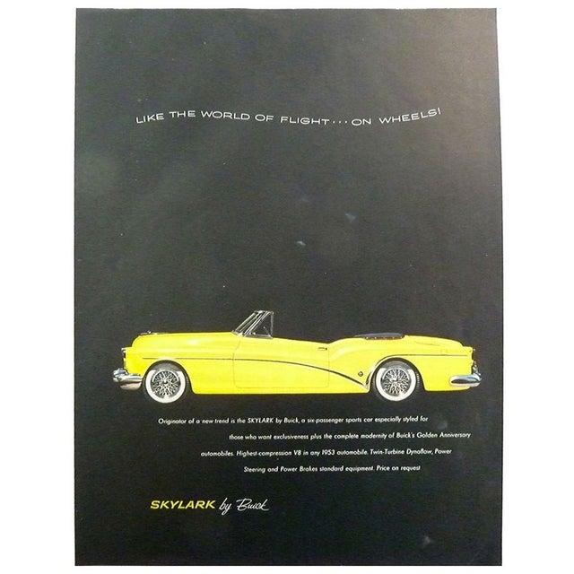 "Image of 1953 ""Skylark"" Magazine Advertisement"