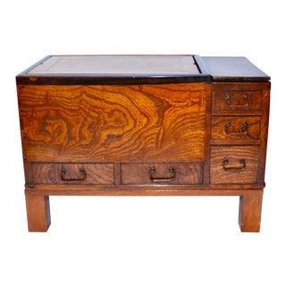 Antique Japanese Wood Hibachi Table