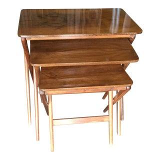 Nasco Mid-Century Nesting Tables - Set of 3