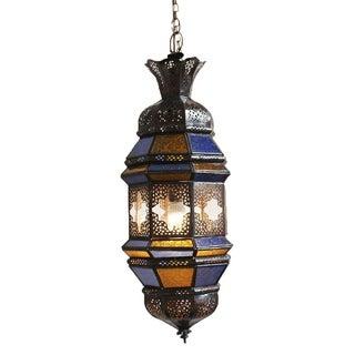 Moroccan Metal Work Lantern