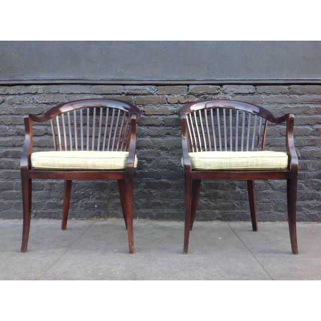 jack lenor larsen chairs a pair chairish. Black Bedroom Furniture Sets. Home Design Ideas