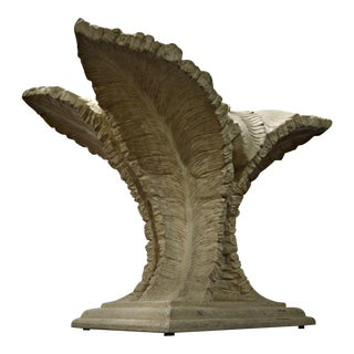 Cast Sculptural Palm Table Base