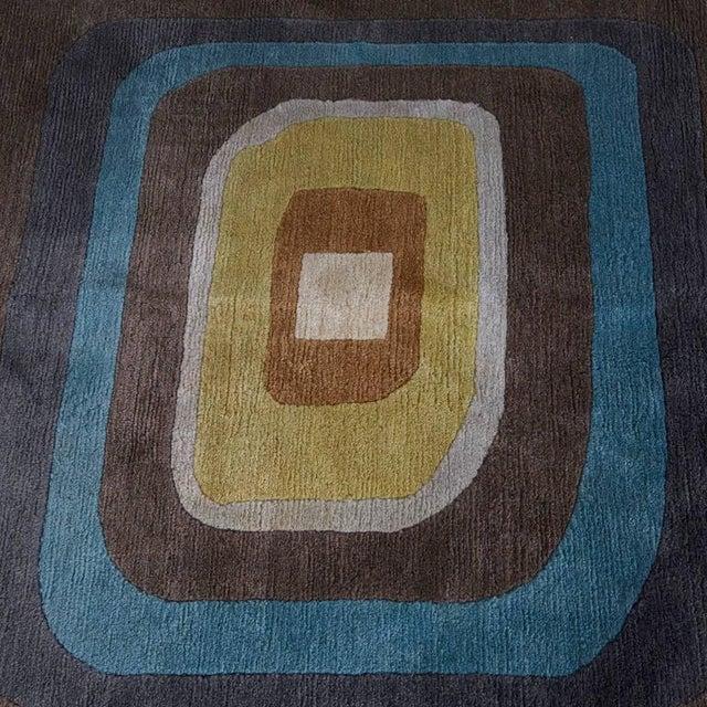 """Angela Adams Geometric Custom Wool Area Rug - 10' x 13'2"""" - Image 7 of 7"""