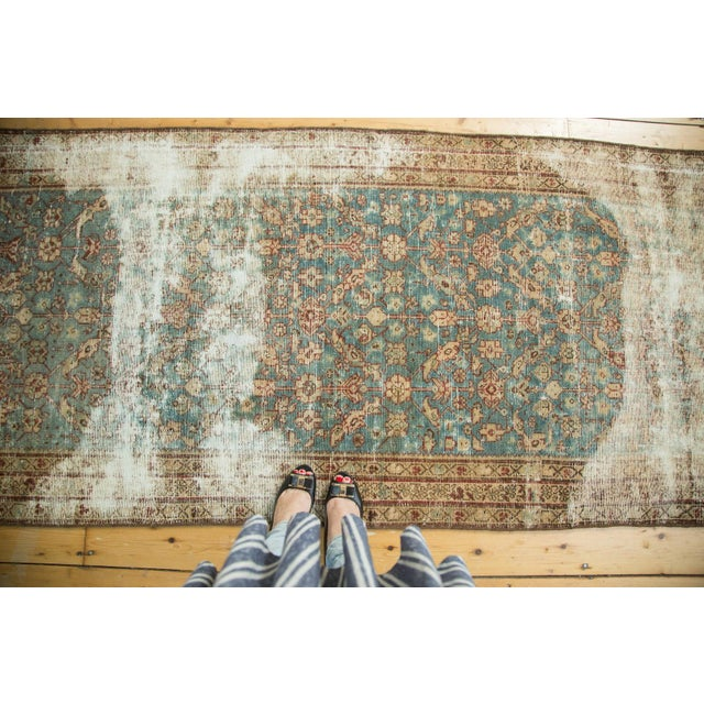 "Antique Malayer Rug Runner - 3'6"" x 13'3"" - Image 3 of 10"