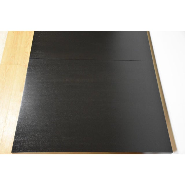 Black and Brass Dining Table by Paul McCobb - Image 6 of 10