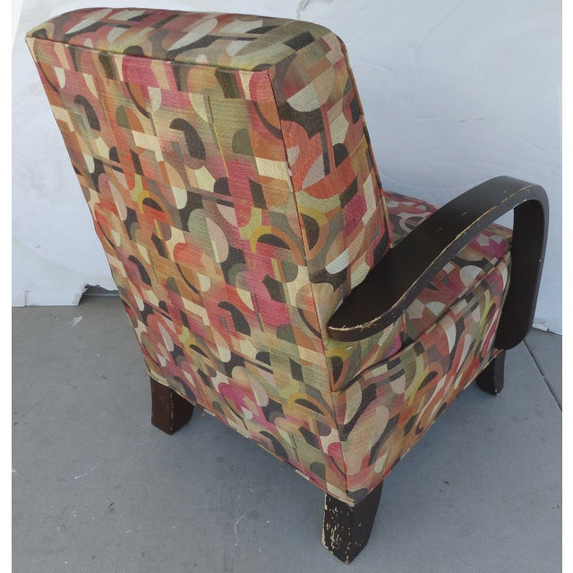 Mid-century Modern Donghia Style Lounge Chair - Image 5 of 8