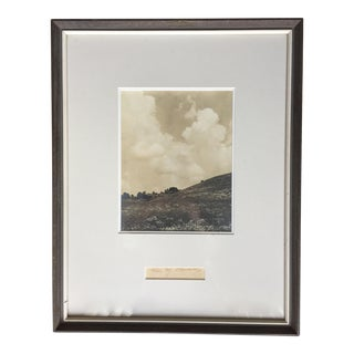 1935 Custom Framed Landscape Photo-Signed Odarenko