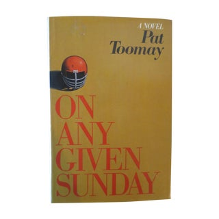 Vintage 'On Any Given Sunday' Book