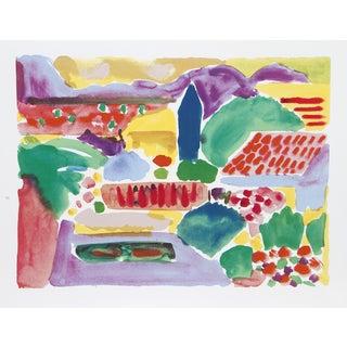 """John Grillo, """"Primavera,"""" Serigraph"""