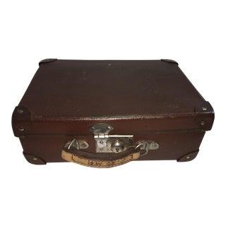 Vintage English Cardboard Suitcase