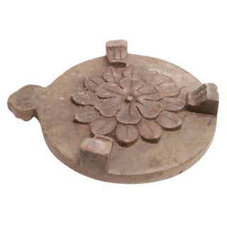 Sandstone Chakla Board With Handle