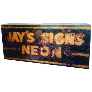 Neon Sign Steel Shell: Jay's Signs Neon