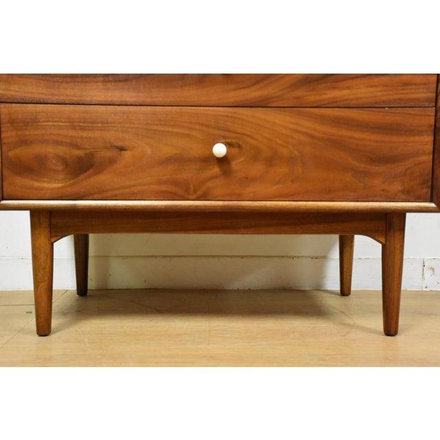Kipp Stewart for Drexel Walnut Dresser - Image 7 of 7