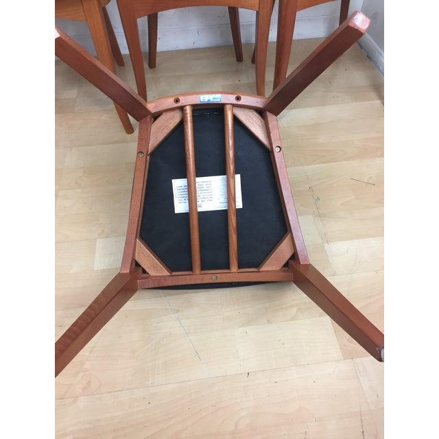 A. Sibau Italian Mid-Century Modern Dining Chairs- Set of 6 - Image 6 of 11