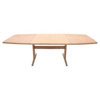 Mid-Century Modern Trestle Table