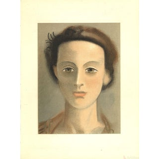 Andre Derain Portrait-1948 Lithograph