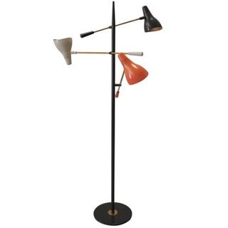 Gerald Thurston Triple Arm Floor Lamp