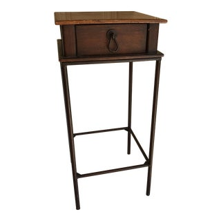 Vintage Petite Wooden Accent Table
