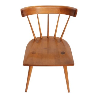 Mid-Century Spindle Back Desk/Side Chair by Paul McCobb