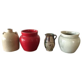Miniature Jug or Planter Collection - Set of 4