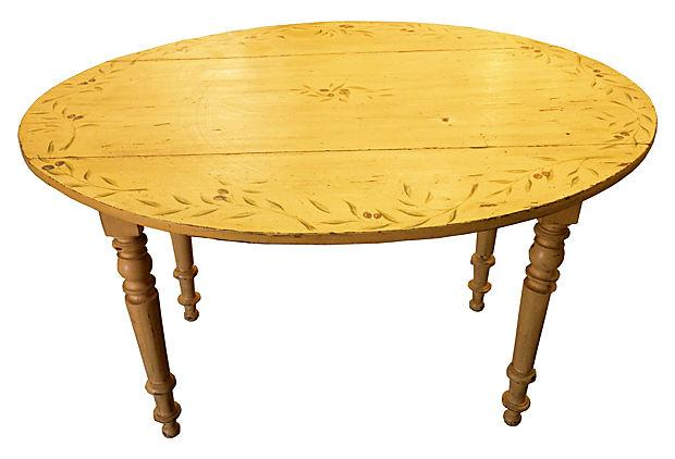 Antique French Proven231al Yellow Dining Table Chairish : antique french provencal yellow dining table 8961aspectfitampwidth640ampheight640 from www.chairish.com size 620 x 620 jpeg 31kB