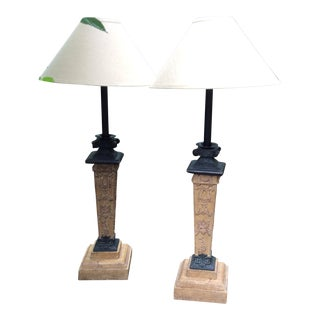 Maitland-Smith Table Lamps - A Pair