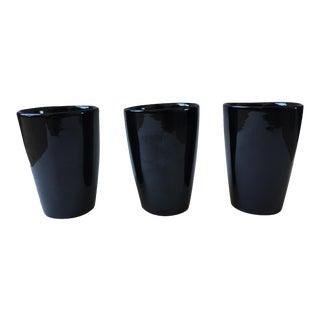 Vintage Frankoma Pottery Tumblers - Set of 3